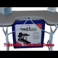 Treadmill Desk from TrekDesk