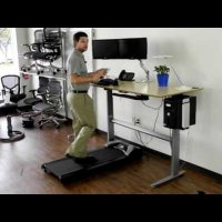 Uplift Treadmill Desk - The Human Solution
